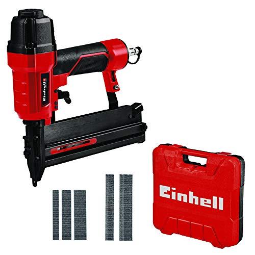 Einhell 4137790 TC-PN 50 Druckluft-Tacker (Pneumatic), Rot, Schwarz