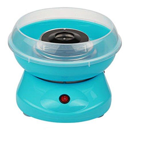 MultiWare 450W Zuckerwattemaschine Blau Zuckerwatte Maschine für Zuhause Automat Zuckerwattegerät Cotton Candy Machine