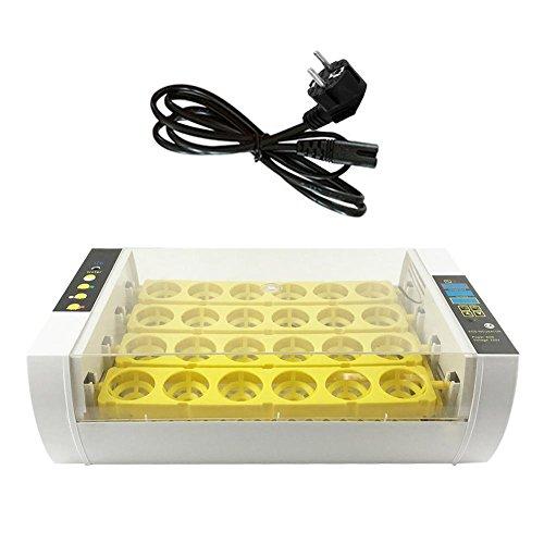 IrahdBowen Brutmaschine 24 Küken Inkubator Digitale Automatische Temperaturregelung und Feuchtigkeit Brut Huhn Entchen Geflügel