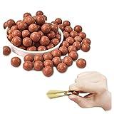 GEGEQ Harte Tonkugel Schleuderball Perlen Schlammkugel Sicherheit Schlammpille Katapult Schießscheiben Übungsschlammball Schleuderliebhaber mit schöner Geschenktüte