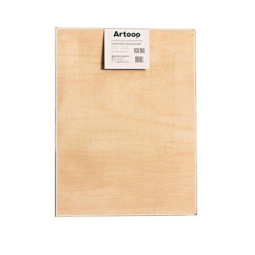 Easy Kunst GmbH Zeichenbrett Holz Malerei Lindenholz 2 Größen (45 x 60cm)