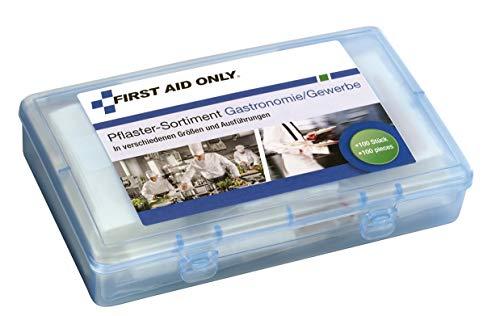 First Aid Only Pflaster-Sortiment Gastronomie/Gewerbe, verschiedene Größen und Ausführungen, 100 Stück, P-10026
