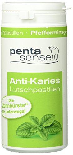 Penta-Sense Anti-Karies Lutschpastillen (Pfefferminz-Geschmack, mit Xylit, 135 Pastillen)