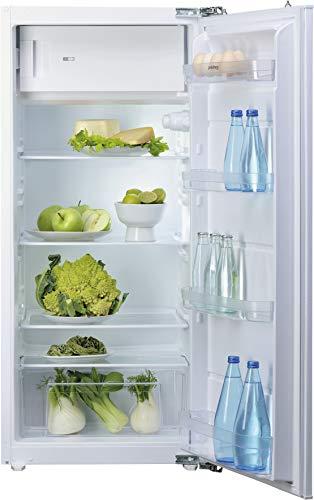 Privileg PRFI 336 A++ Einbau-Kühlschrank mit Gefrierfach/A++ / 183 L Nutzinhalt / 161 kWh Strom/Jahr / 42 dB/LED-Licht/Einfache Festtürmontage (Nische 122 cm)