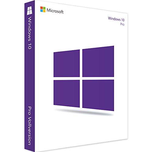 Windows 10 Pro 32 Bit & 64 Bit - Spacemex | Authentischer Lizenzschlüssel + Anleitung zum Herunterladen | Versand per Post und per E-Mail max 12 Stunden Versandzeit