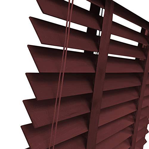 JIANFEI Jalousien Okklusion Privatsphäre Fensterläden Home Decoration, 5 Farben 12 Größen Kann Angepasst Werden (Farbe : 2#, größe : 80x160cm)