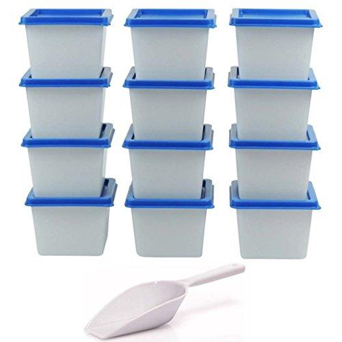 12 Mini - Gefrierdosen / Tiefkühldosen 100 ml / BPA frei !