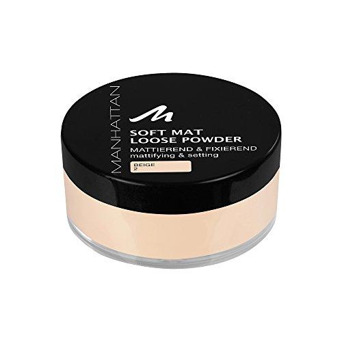 Manhattan Soft Mat Loose Powder 2 1er Pack (1 x 20 g)