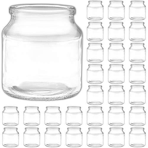 Ami Europe 30x Windlicht klein Teelichtglas Windlichtglas Kerzengläser für Teelichter