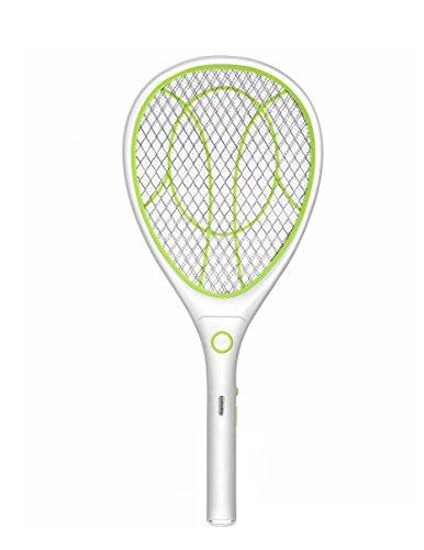 Elektrische Moskito Fliegenklatsche Fliegenfänger Zapper, Insekten Mörder, USB wiederaufladbar, LED-Beleuchtung, Doppelte Schichten Mesh Schutz