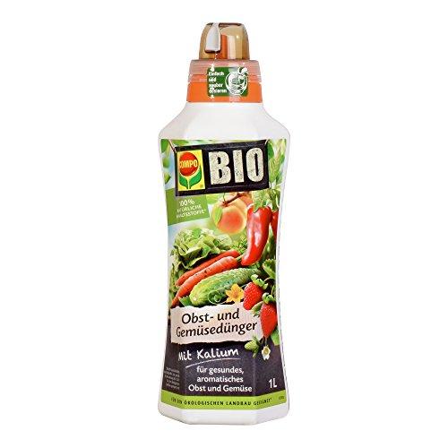 COMPO BIO Obst- und Gemüsedünger für alle Obst- und Gemüsesorten