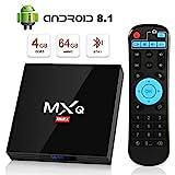 Android 8.1 TV Box 4GB+64GB superpow MXQ MAX Android Box Quad-Core mit BT4.1 3D / 2.4Ghz WiFi / 100 LAN / H.265, HDMI Smart TV Box