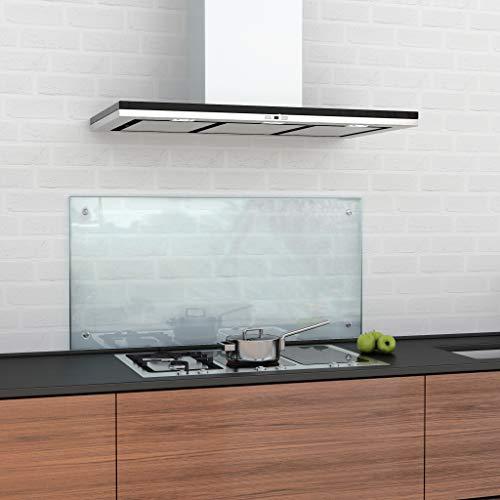 glasshop24 Küchenrückwand/Spritzschutz aus Klarglas oder Mattglas in diversen Größen