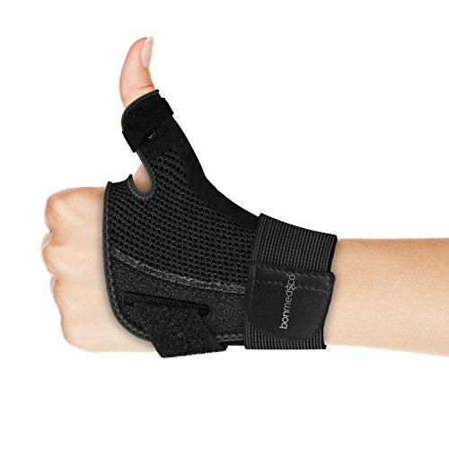 Bonmedico Forte flexible Daumen-Bandage mit Schiene für 13,9 cm - 26,6 cm Handgelenkumfang, Gr. 11 x 15 cm
