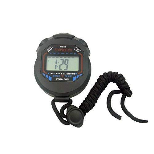 SIENOC Digitale Stoppuhr Professional Handy-LCD Chronograph Sport Stoppuhr