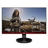 AOC G2590FX 62 cm (24,5 Zoll) Monitor (HDMI, DisplayPort, 1 ms Reaktionszeit, 1920 x 1080, 144 Hz) schwarz