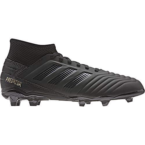 adidas Unisex-Kinder Predator 19.3 FG J Fußballschuhe, Mehrfarbig Core Black/Gold Met. 000, 38 2/3 EU