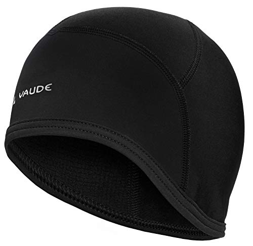 Vaude Bike Cap Helm-Unterziehmütze Mütze, Black Uni, L