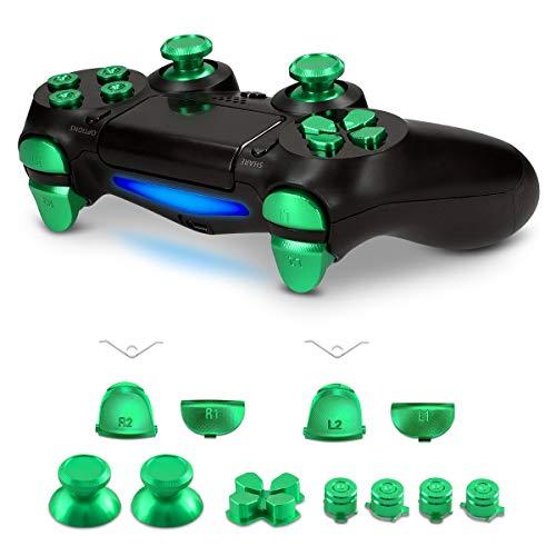 kwmobile Playstation 4 Controller (1. Gen) Ersatztasten - mit Schultertasten - Aluminium Ersatz Tasten für Playstation 4 Controller (1. Gen)