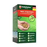 Veddelholzer Garten Rasenpellets Sport und Spielrasen – Rasensamen für robusten und widerstandsfähigen Rasen – Grassamen für 40 m² zur Einsaat und Nachsaat – Samen geeignet für Schattenrasen