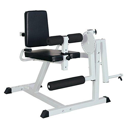 Homcom Beinstrecker Beincurler Beinbeuger Beincurl Beintrainer Fitnessgerät Gym Stahl L113 x W95 x H99 cm