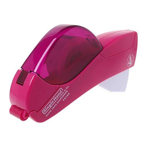 Automatischer Papierabroller für das Büro, ein Druckmesser, Klebebandabroller für Geschenk, Klebebandabroller rose pink