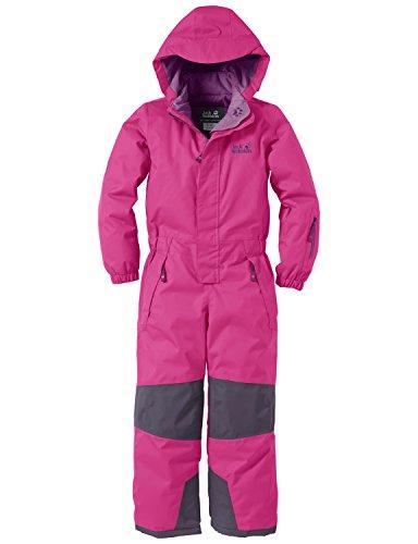 Jack Wolfskin Kinder Schneeanzug Magic Mountain Snowsuit Dark Magenta, 128