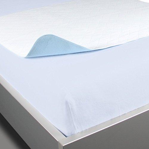 Waschbare Krankenpflegeunterlage / Mehrfach Krankenunterlage 70 x 90 cm