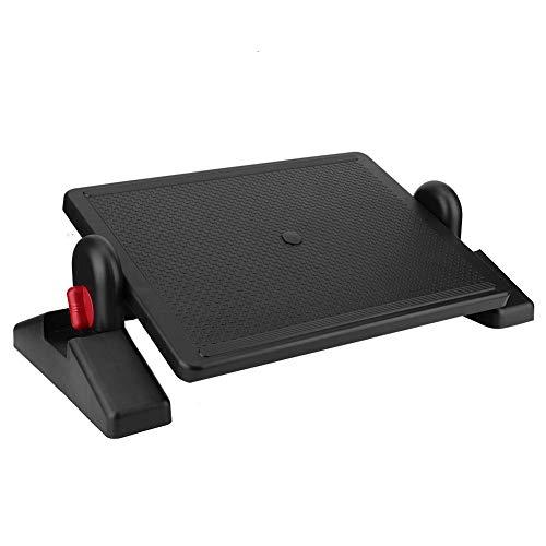Fußauflagen, Ergonomische höhenverstellbar Fußstütze im Büro oder schreibtisch & Zuhause mit Anti-Rutsch Technologie für müde Füße, Verbesserung der Haltung & Zirkulation, mindert Beinvenenthrombose