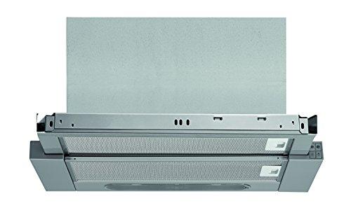 Bauknecht DBAH 64 AM X Dunstabzugshauben/Flachschirmhaube/60 cm/Mechanische Steuerung/silbergrau/Abluft- und Umluftbetrieb geeignet