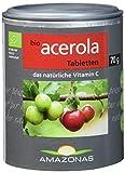 Amazonas Naturprodukte Bio Acerola Lutschtabletten Mit Natürlichem Vitamin C, 120 Stück