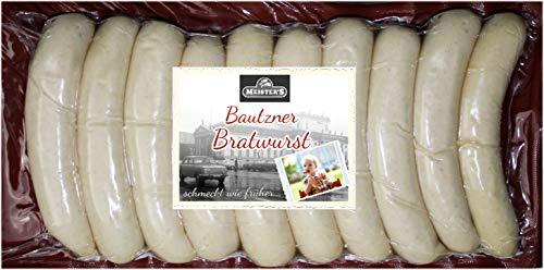Rostbratwurst | Die würzige Bratwurst | Echte Bautzner Wurst zum Grillen | 10 x 100g