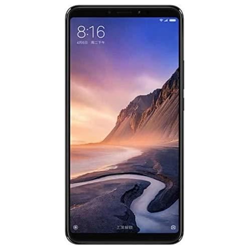 Xiaomi Mi Max 3 Smartphone (17.52 cm (6.9 Zoll), 12 MP + 5 MP Kamera, Android 8.1 (Oreo)), 64 GB Schwarz