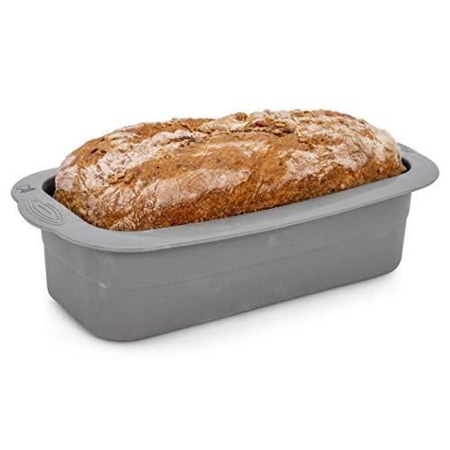 Backefix Brotbackform mittelgroße Kastenform für 750g Brote – antihaftende Brotform Kuchenform (23cm)