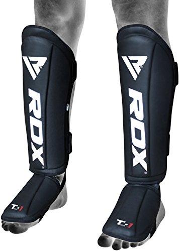 RDX MMA Schienbeinschoner Muay Thai Schienbeinschutz Kampfsport Kickboxen Schienbeinschützer Spannschützer Boxen