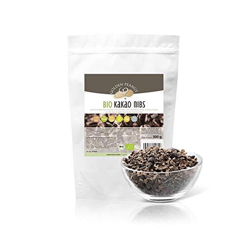 Bio Kakao Nibs 500 g gebrochene Kakaobohne aus Peru vegan Rohkost
