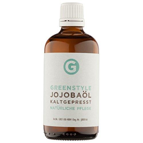 Jojobaöl Gold kaltgepresst (100ml) - 100% reines Öl für Haut und Haar von greenstyle