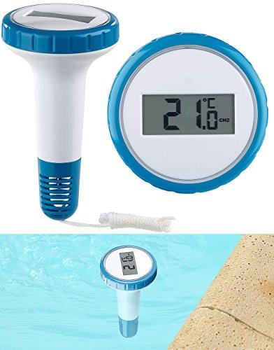FreeTec Zubehör zu Thermometer Wasser: Zusätzliches Funk-Poolthermometer für PT-250, wasserdicht IPX8 (Funk Thermometer wasserdicht)