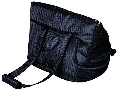 Trixie 36211 Riva Tasche, Nylon, 26 × 30 × 45 cm, schwarz