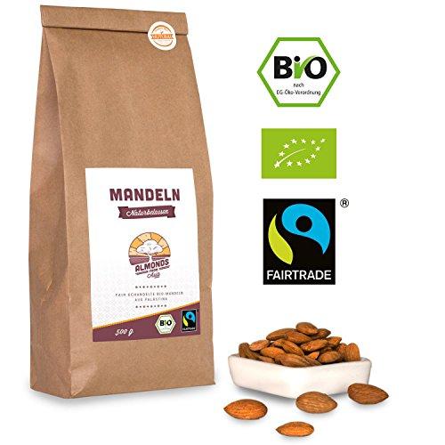 Bio Fairtrade Mandeln: Naturbelassen (500g)