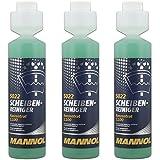 3x MANNOL 5022 Scheiben Reiniger 1:100 Konzentrat Citrus 250ml