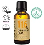 Naissance Rosengeranie (Nr. 116) 30ml - 100% naturreines ätherisches Rosengeranienöl - tierversuchsfrei, vegan, unverdünnt - für Aromatherapie, Massagemischungen & Duftlampen