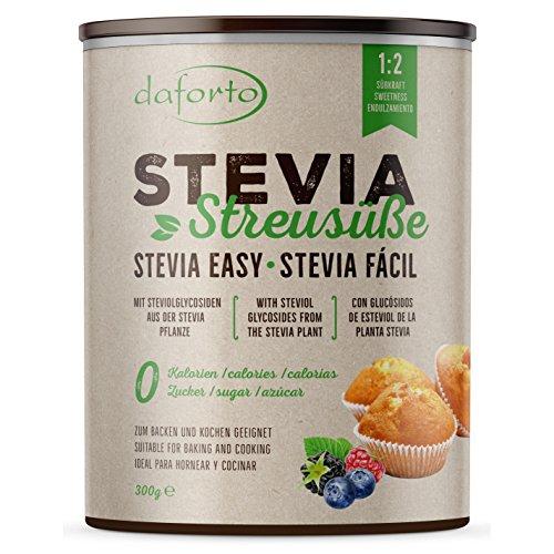 Daforto Stevia Streusüße, 1er Pack (1 x 300 g)