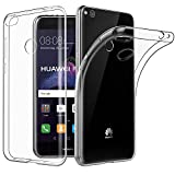 Huawei P8 Lite 2017 Hülle Case, EasyAcc Liquid Crystal Ultra Dünn Crystal Clear Transparent Handyhülle Cover Soft Premium-TPU Durchsichtige Schutzhülle Backcover Slimcase für Huawei P8 Lite 2017