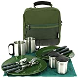 NGT Deluxe Cutlery Food Set, Grün, L