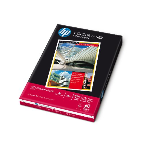 HP CHP340 Laserpapier, 120 g/m², A4, 250 Blatt, weiß