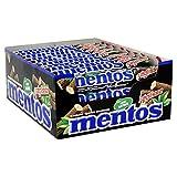 Mentos Lakritz-Mint, 40 Rollen Dragees, Lakritz und Minze-Geschmack, Multipack Kaubonbons