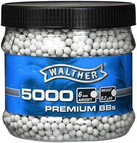 Walther Softairkugeln BB, Weiß, 5000