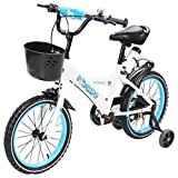 Actionbikes Kinderfahrrad Donaldo - 16 Zoll - V-Break Bremse vorne - Stützräder - Luftbereifung - Ab 4-7 Jahren - Jungen & Mädchen - Kinder Fahrrad - BMX Kinderrad (Donaldo 16 Zoll)