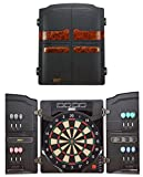 Best Sporting elektronische Dartscheibe OXFORD 2.0, LED Dartautomat Cabinet mit 12 Dartpfeilen, Ersatzsspitzen und Netzteil
